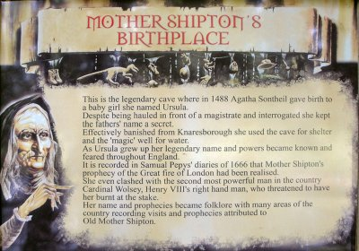 Mother Shipton Cave